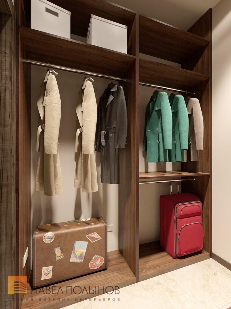 Гардеробная комната в квартире в жк duderhof club.