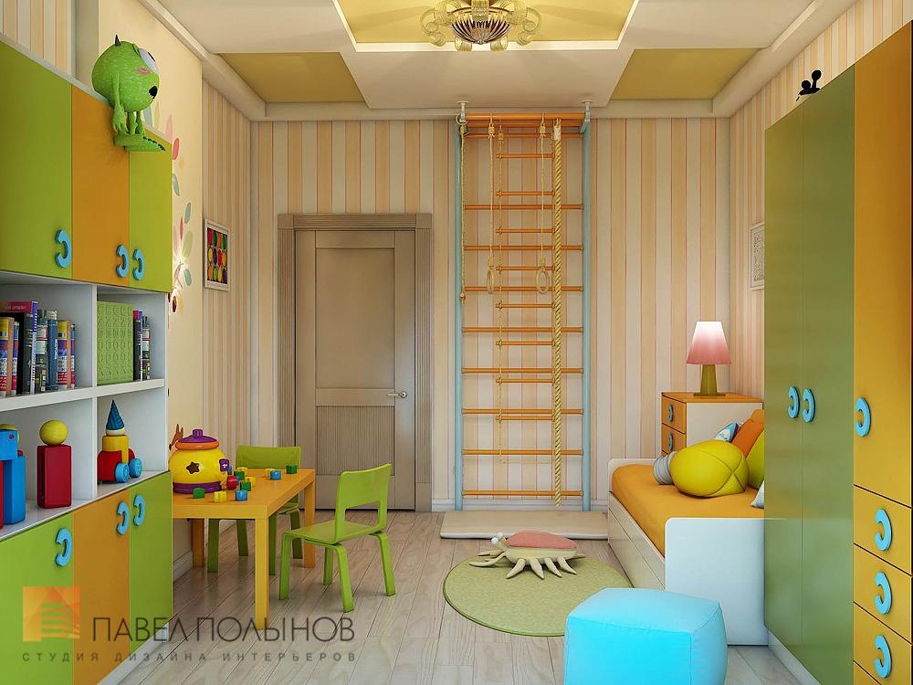 Дизайн детской комнаты на 12 м
