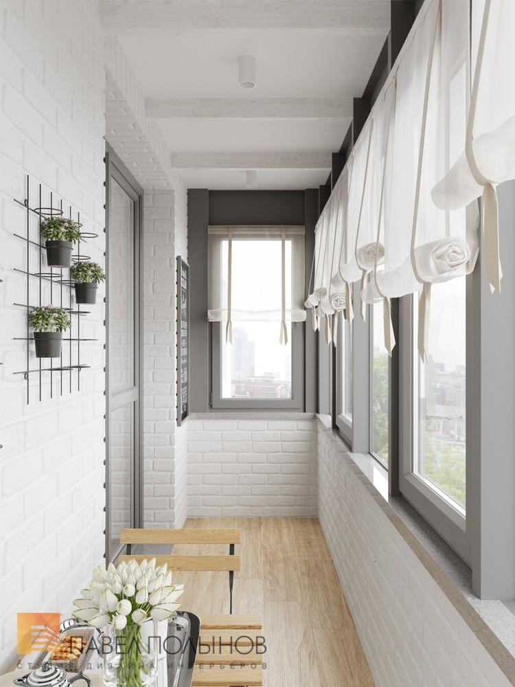 Фото: лоджия - интерьер 3-х комнатной квартиры в стиле прова.