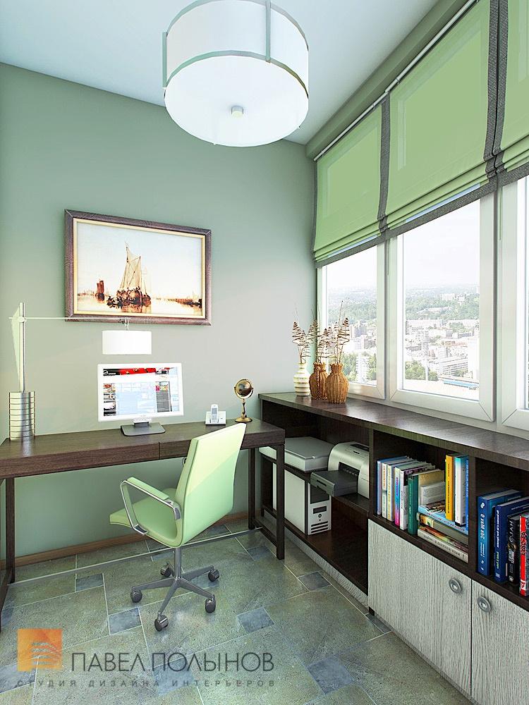 Отделка углового балкона под кабинет фото.