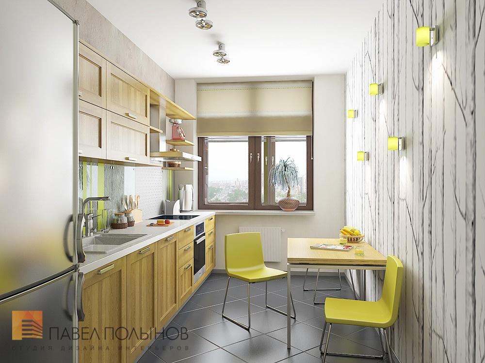 Дизайн кухни 14 кв м с окном в частном доме