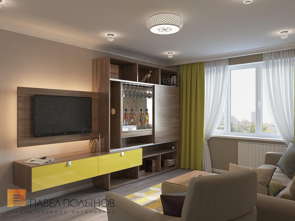 Дизайн проект 2-х комнатной квартиры 60 кв.м