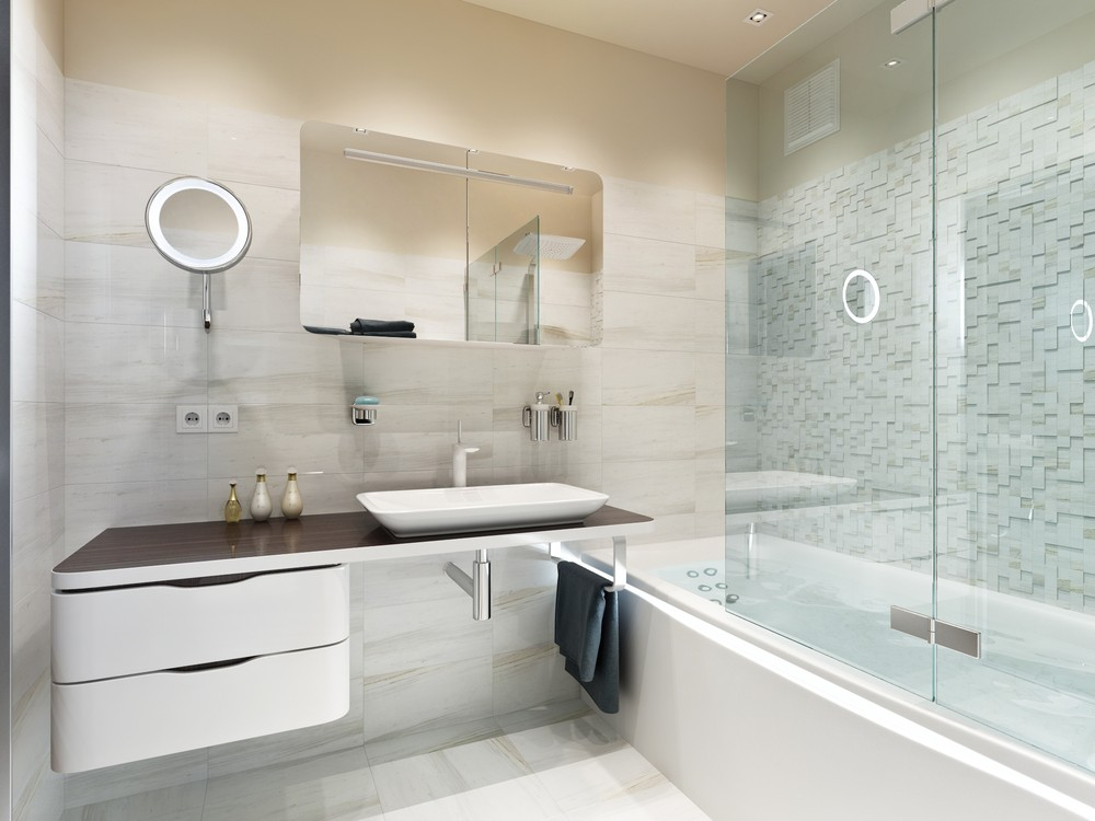 Ванная комната без унитаза фото