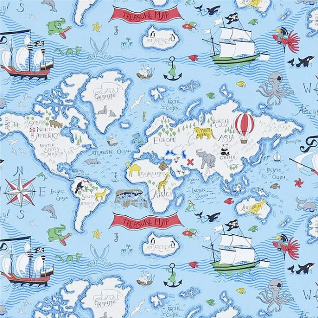 Обои SANDERSON WALLPAPER  TREASURE MAP