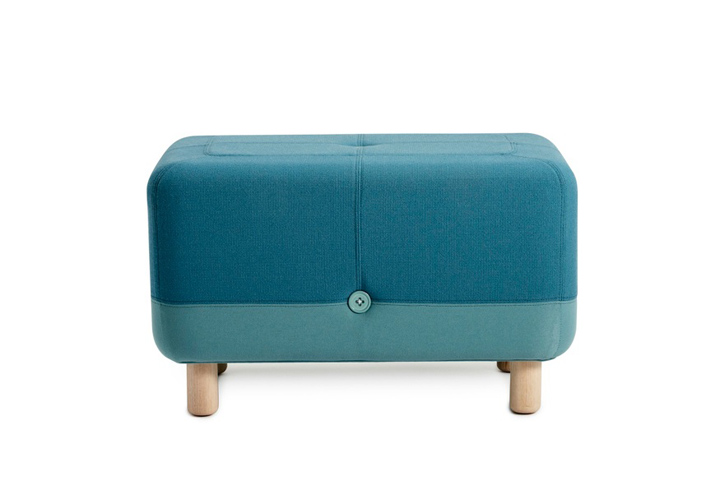 Пуф SUMO POUF LIGHT GREY