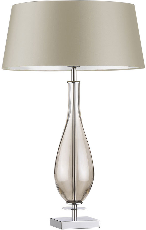 Настольная лампа HEATHFIELD & CO MURA SMOKE TABLE LAMP