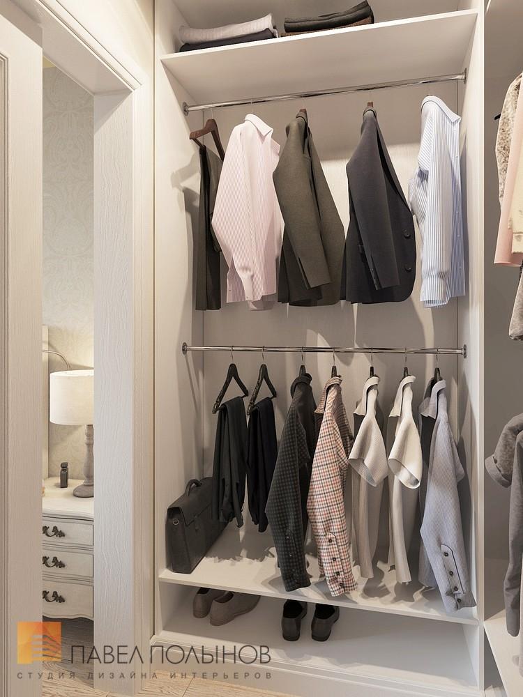 Фото: гардеробная комната - интерьер квартиры в стиле легкой.