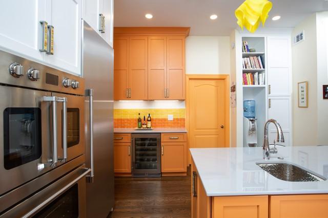 Готовые палитры для интерьера кухни