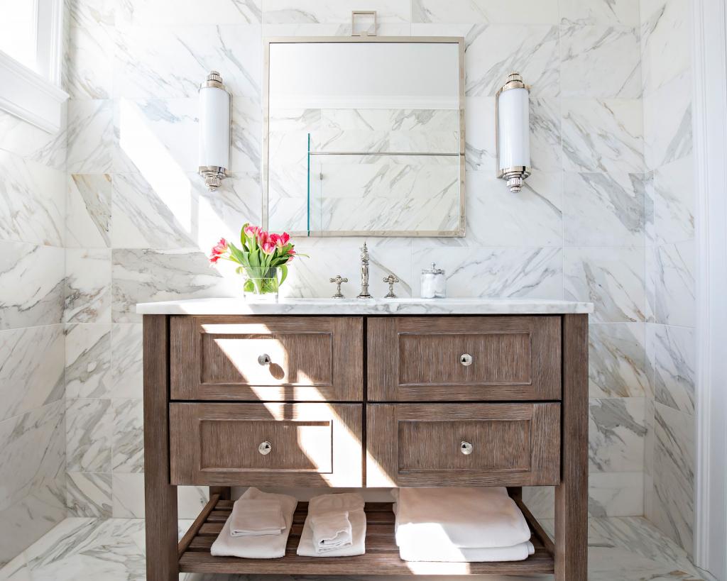 Что дизайнеры всегда советуют при оформлении ванной комнаты