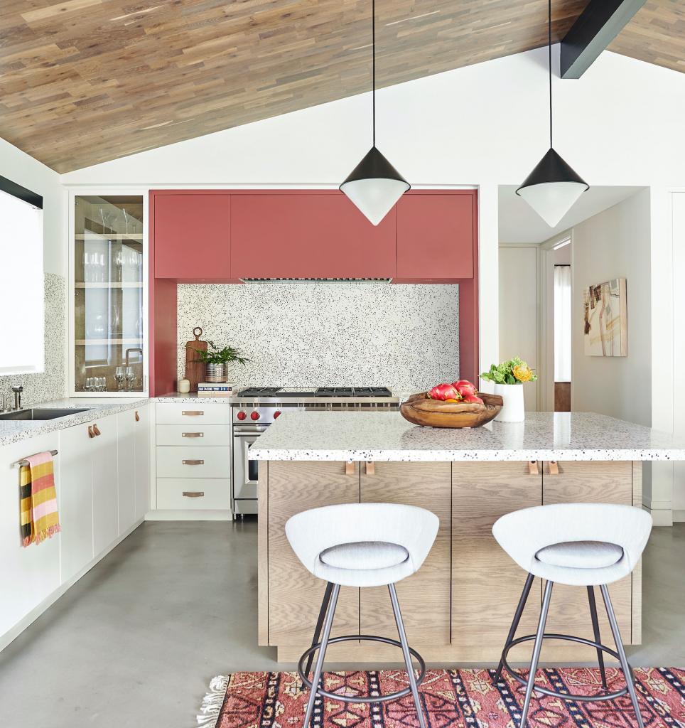 Розовые оттенки, которые идеально подходят для дизайна кухни