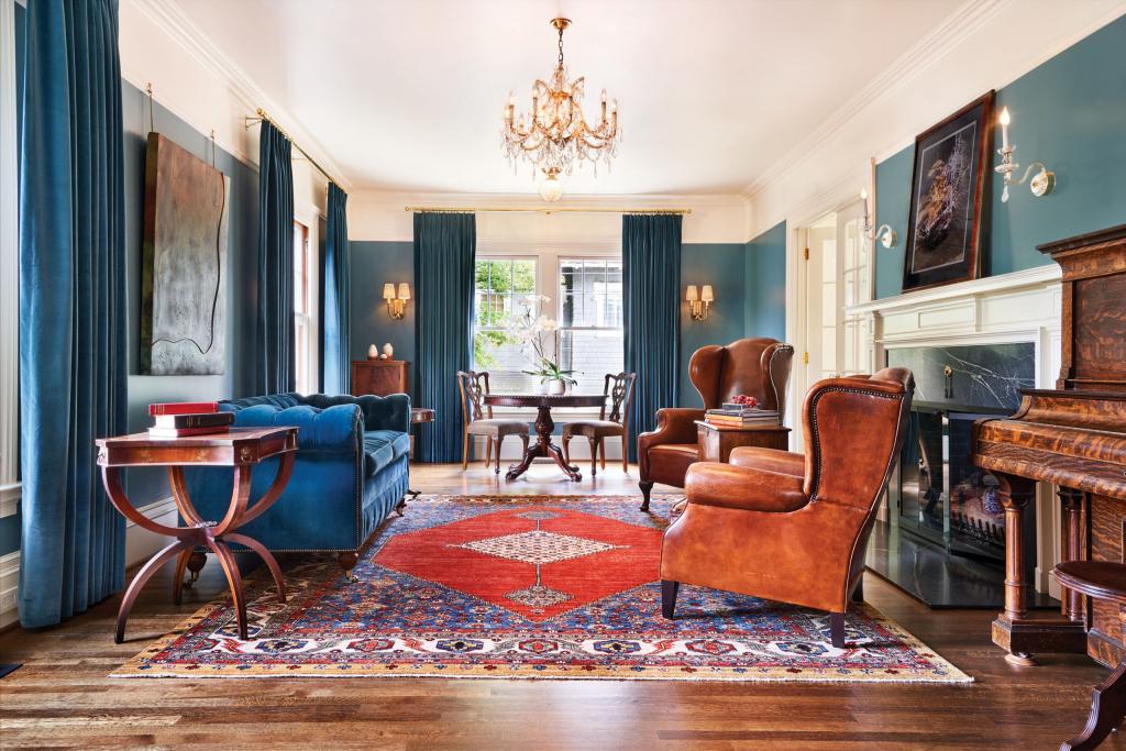 Примеры стильных цветовых сочетаний для интерьера гостиной