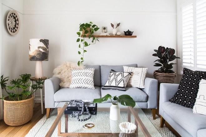 Как декорировать небольшую гостиную