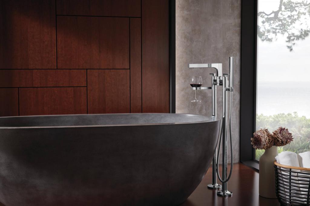 Тренды 2021-го года для интерьера ванной комнаты