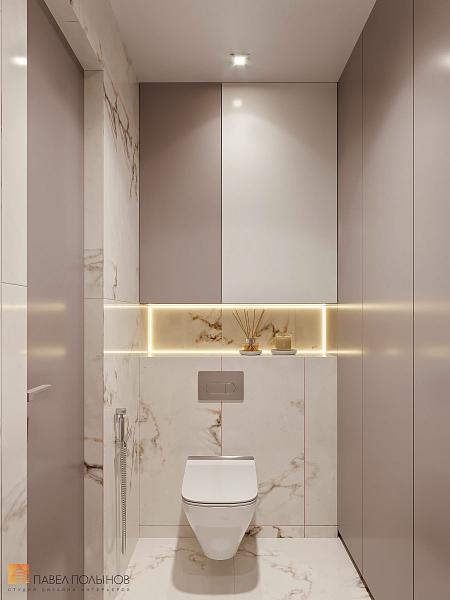 Квартира в современном стиле с элементами пост-модерна в ЖК «Скандинавия»